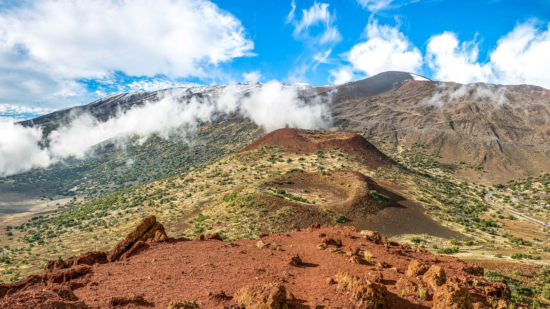 The legendary Mauna Kea peak is big island Hawaii's highest point at 13,802'